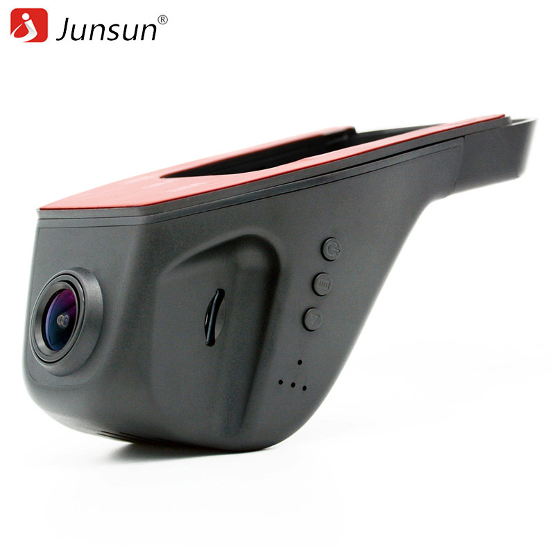 Junsun WiFi Car DVR Camera Video Novatek 96655 Full HD 1080p Recorder Night Version IMX 322 Automobile dvrs Dashcam Registrator wifi car dvr dash cam camera digital video recorder full hd 1080p novatek 96655 imx 322 for vw touareg 2014 2015 registrator