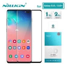 Nillkin מזג זכוכית עבור Samsung Galaxy S10 בתוספת S10 + S10E S20 S9 בתוספת S8 + S9 + 3D מסך מגן עבור סמסונג S20 Ultra זכוכית