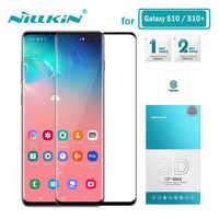 Nillkin Vetro Temperato per Samsung Galaxy S10 Plus S10+ S10E 3D CP + Max Protezione Dello Schermo per Samsung S10 Plus di Vetro