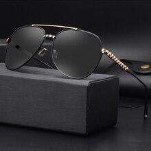 COLECAO Moda Gafas Polarizadas gafas de Sol Para Hombre Hombres Nueva Conducción HD Puntos Lentes Polaroid gafas de sol hombres Eyewears c1502