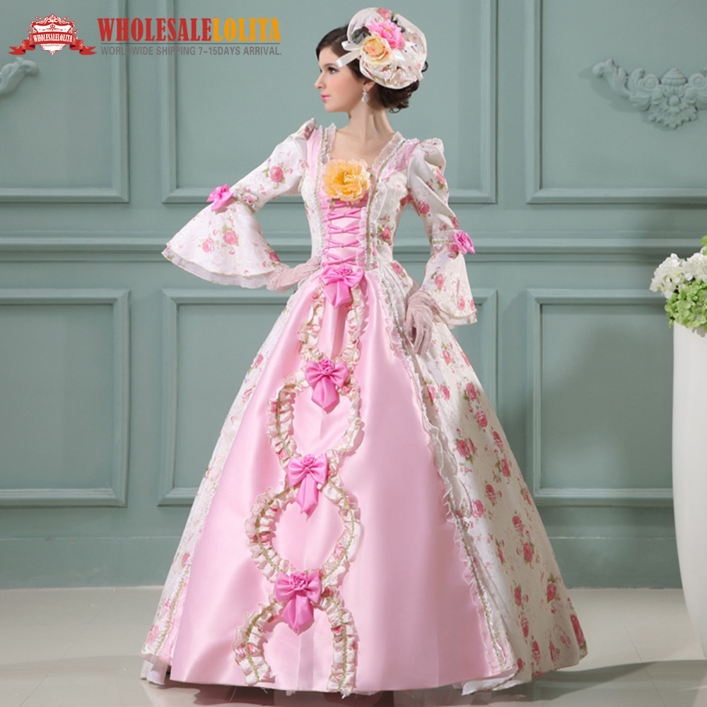 Colonial style dresses for sale