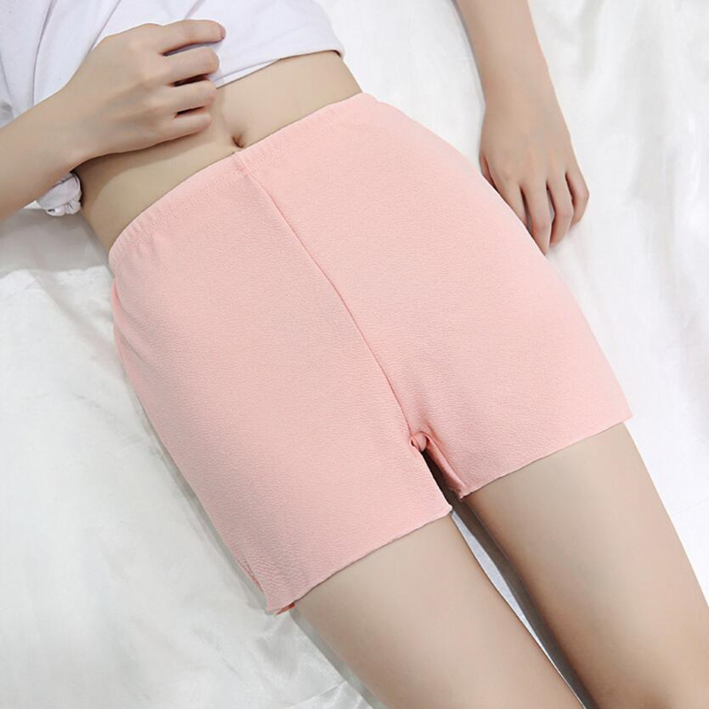 NDUCJSI Summer   Shorts   Casual Security   Short   Anti-lighting Outer Wear Female Elastic Waist Thin Insurance Spandex Plus Size   Short