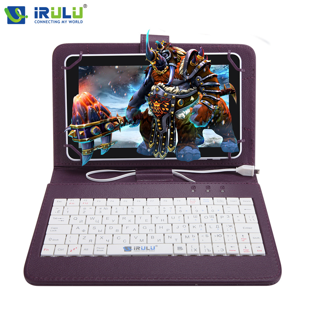 ФОТО iRULU eXpro X4  7'' GMS Android 5.1 IPS Tablet Quad Core Dual Cam Tablet PC 1G RAM 16G ROM Bluetooth 4.0 Wifi w/RU Keyboard Case