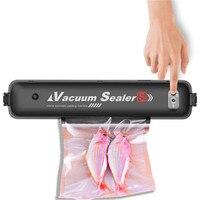 YOHOLOO 220V/110V Household Food Vacuum Sealer Packaging Machine Film Sealer Vacuum Packer Including 15Pcs Bags