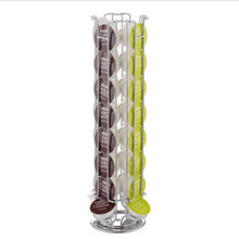 24/32 pcs Dolce Gusto Coffee Capsule Pods Holders Shelves Storage Racks Metal Rotatable
