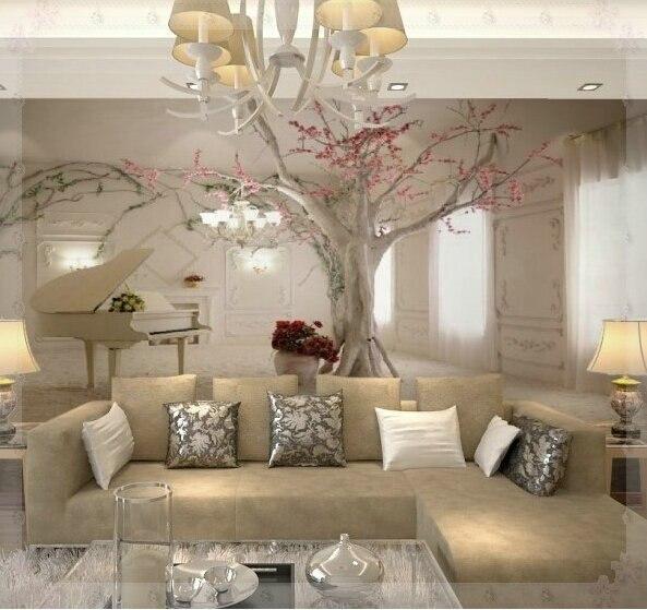 Benutzerdefinierte jeder größe 3D wandbild tapeten für wohnzimmer ...