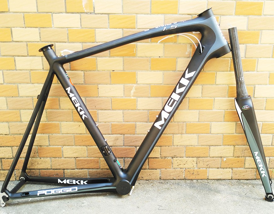 Original Mk L 1.5 full carbon 55cm road bicycle frame with full carbon fork track frame fixed gear frame bsa carbon 1 1 2to 1 1 8 bike frameset with fork seatpost road carbon frames fixed gear frameset