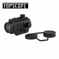 Tactical 1x22 tactical compact green red dot holographic sight scope with 20mm dovetail for outdoor hunting ar15 guns