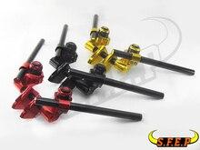 Motorcycle CNC Trim Tap Direction To Separate Handlebars For Honda GROM MSX125 MSX125SF Kawasaki Z125 Yamaha