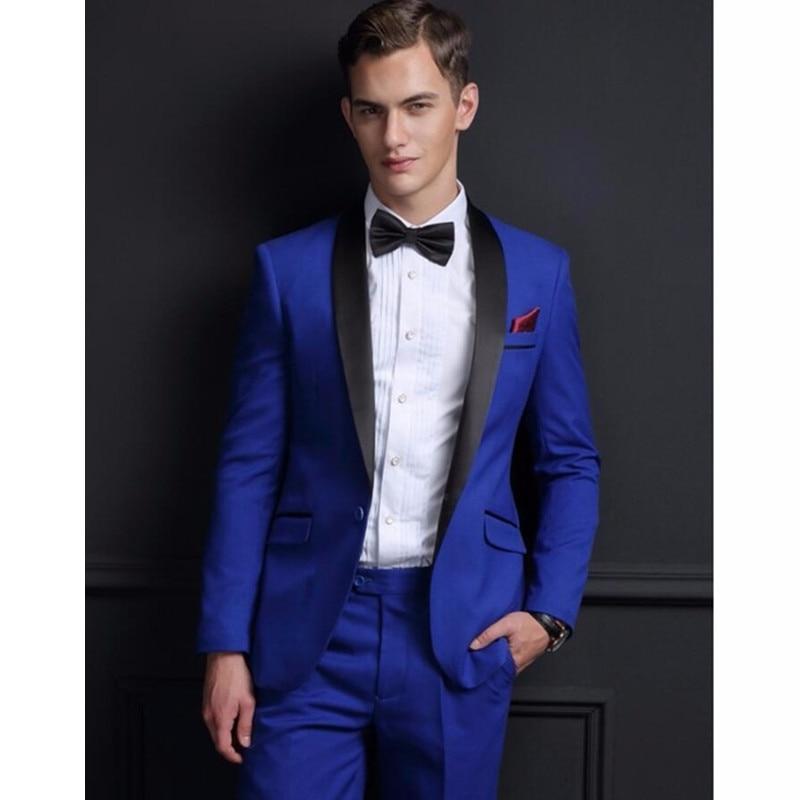 Hohe Qualität Dunkelgrün Herren Anzüge Bräutigam Smoking Groomsmen Hochzeit Abendessen Best Man Anzüge Anzüge & Blazer Herrenbekleidung & Zubehör jacke + Pants