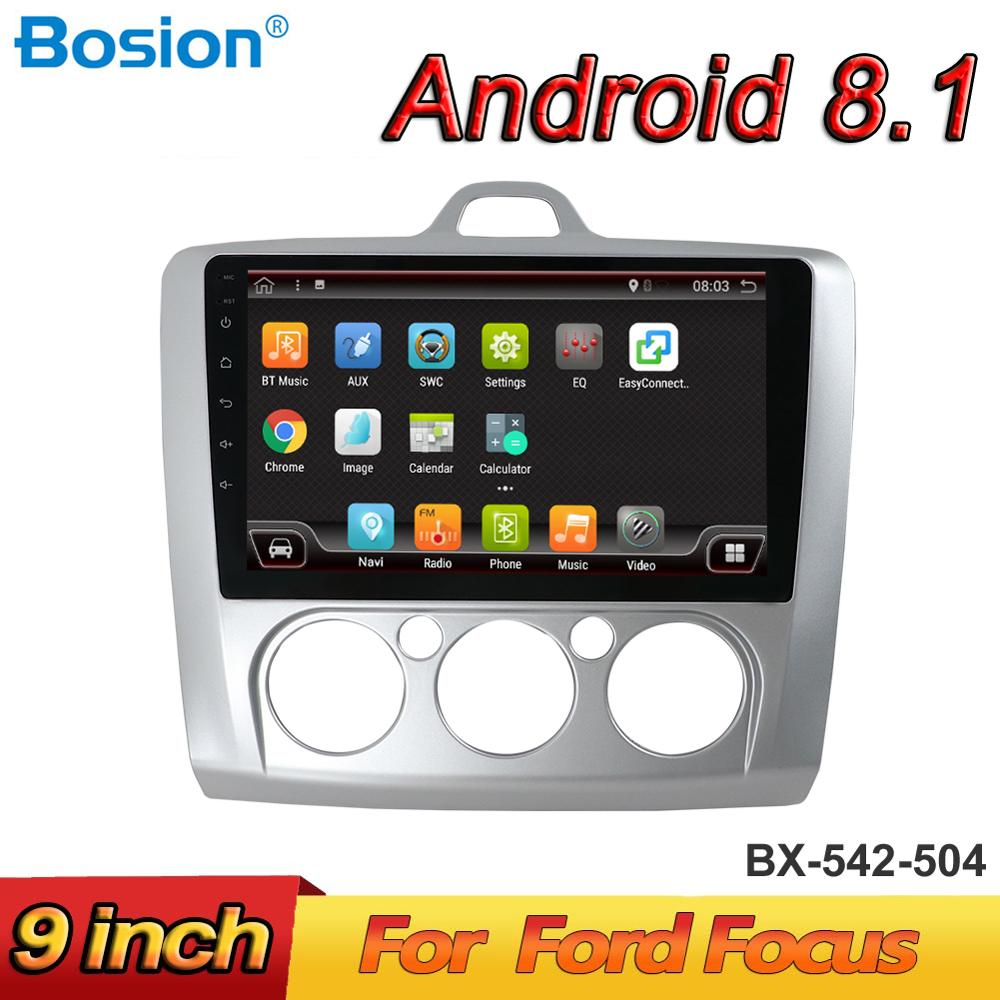 Bosion Android 8 1 Car Radio Multimedia Player For Ford Focus Mk2 Mk3 2004 2005 2006