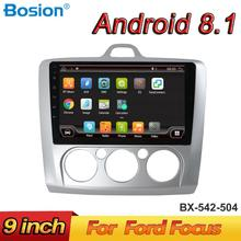 цена на Bosion Android 8.1 Car Radio Multimedia Player For Ford Focus Mk2 Mk3 2004 2005 2006 2007 2008 2009 2010 2011 GPS Navigation