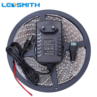 Waterproof LED Strip 300leds 5M 3528 SMD Cool Warm White Light IP65 Flexible Ribbon Tape With