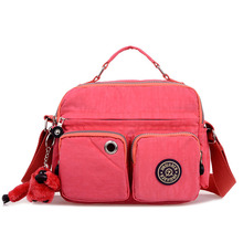 2016 frauen Messenger Bags Damen Nylon Handtasche Reise Casual Schulter Weiblichen Qualität Große Kapazität Crossbody Tasche B137