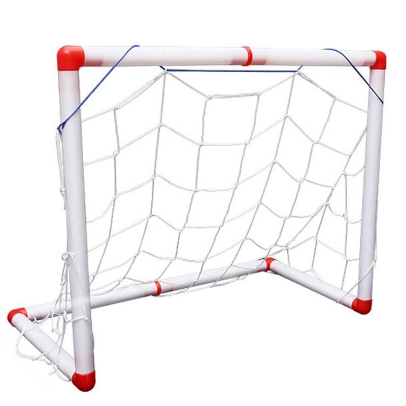 Portable Folding Children Football Goal Door Set Football Gate Outdoor Sports Toys Kids Soccer Door Set Toys For Children