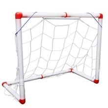 Portable Folding Children Football Goal Door Set Gate Outdoor Sports Toys Kids Soccer For