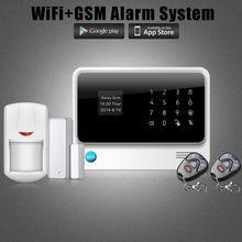 Новый Продукт Wi-Fi Сигнализация GPRS GSM Сигнализация Системы Безопасности Автодозвон Главная Охранной Сигнализации IOS/Android Дистанционного Управления