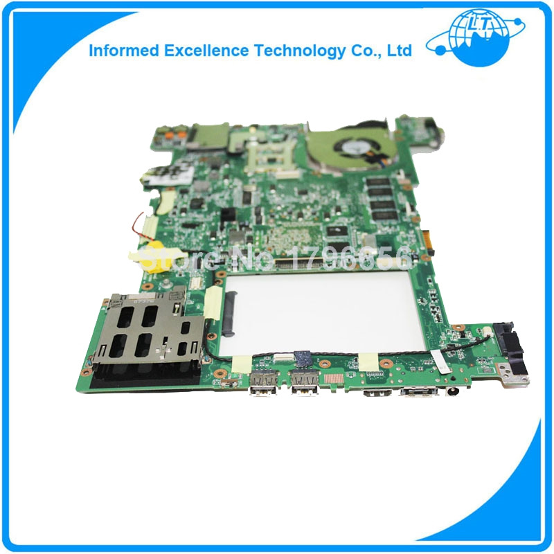 Laptop motherboard for Asus U3S fully tested 100% work well for asus a8f laptop motherboard fully tested