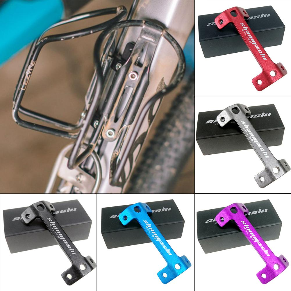 MTB Motain Bike Bicycle Bottle Cage Extender Double Head Bottle Cage Mountain Bike Cup Holder Frame Double Kettle Holder