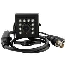 Black Aluminum case 1/3″ cmos 700tvl mini ir day&night vision indoor cctv analog video surveillance camera for DVR