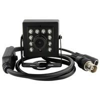 Black Aluminum Case 1 3 Cmos 700tvl Mini Ir Day Night Vision Indoor Cctv Analog Video