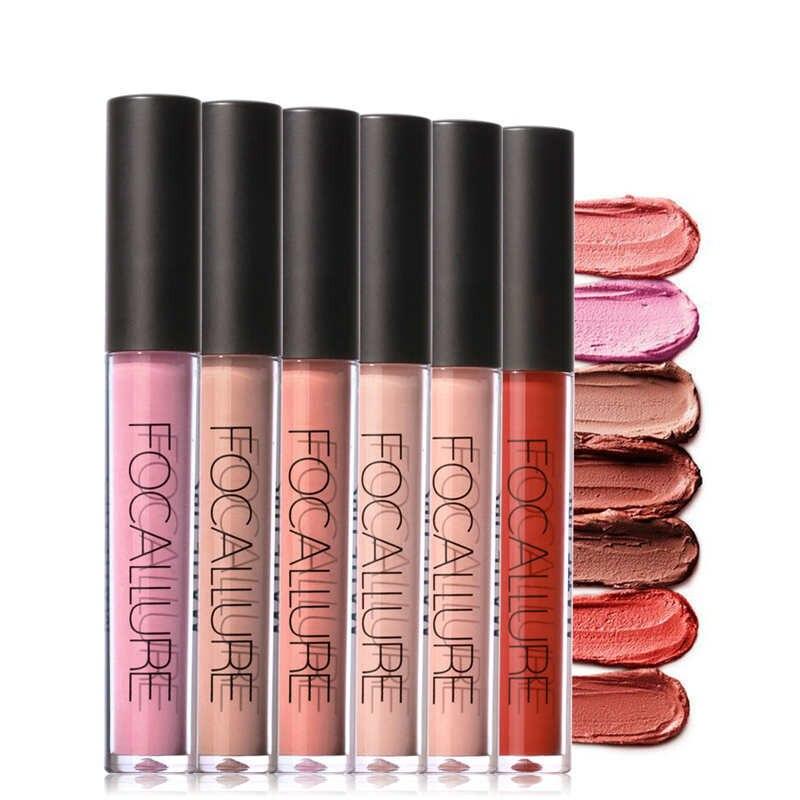 6pcs Brand Makeup Tint liquid Matte Lipstick Velvet