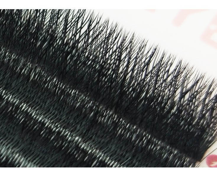 YY shape eyelash extension two lash tips individual net crossed individual eyelash in False Eyelashes from Beauty Health