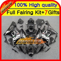 Body Body Black White For YAMAHA YZFR6 YZF 600 06 07 YZF R 6 06 07