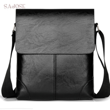 Crossbody Bag For Men Leather Shoulder Bag