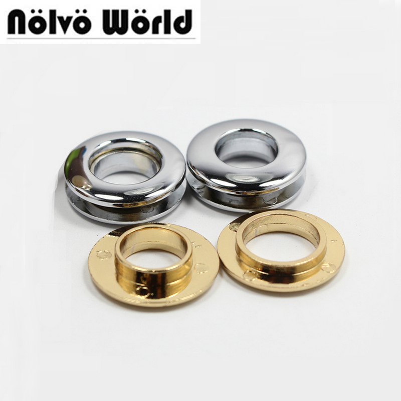 50PCS 28.2X13.8X4mm 100% copper pushed grommet die casting bags metal fitting hardware accessory pressed round eyelets 50pcs 100% copper die casting 11 9mm round head rivet screw for bags hardware high quality rivets accessories