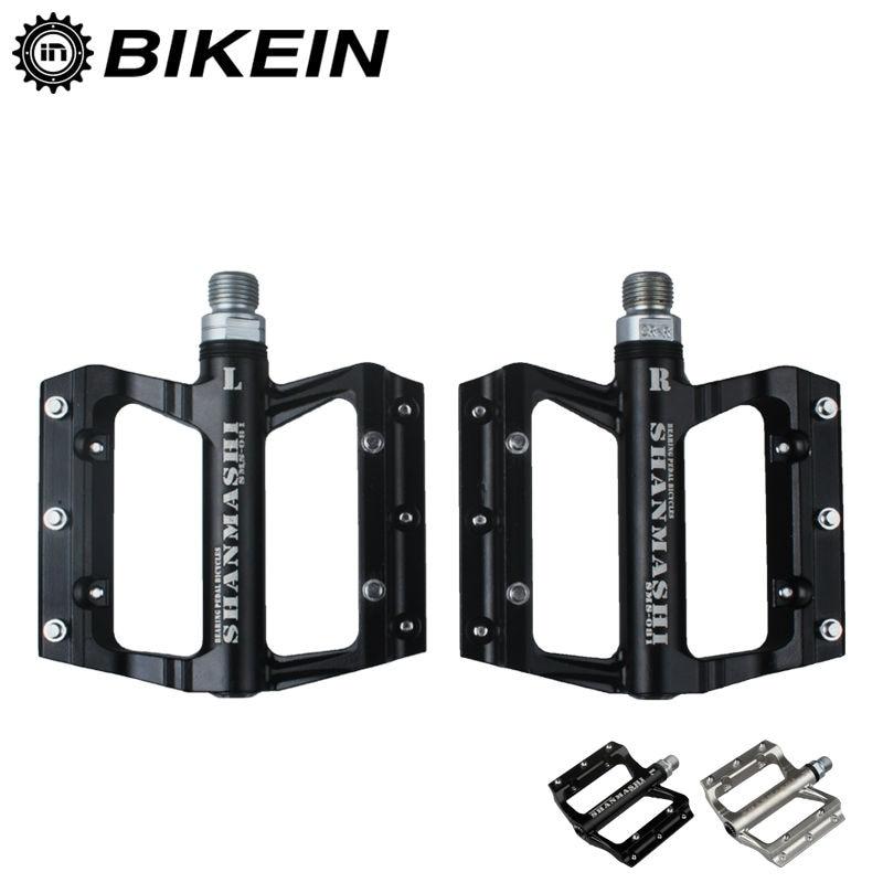 Цена за Bikein   высокое качество Mounatain велосипеда велосипед герметичный подшипников педалей 400 г/пара велоспорт алюминиевый MTB BMX части 2 цветов