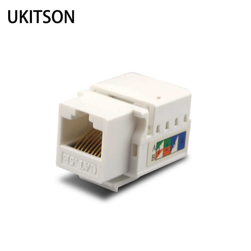 Standard Keystone Cat5e Rj45 Jack Cat6 Lan Plug For 1000mbps Extrusion Wire Modules Socket Ethernet Connector Aliexpress