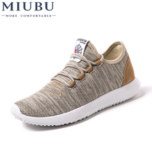 MIUBU Men Casual Shoes Summer Breathable Mesh Men Shoes Lightweight Men Flats Fashion Casual Water Shoes Designer Male Shoes стоимость