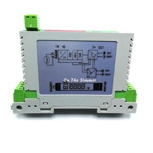 Резистивный передатчик 0-5 K/0-10 k/4-20ma резистор передача аналогового потенциометра модуль преобразования сигнала карта