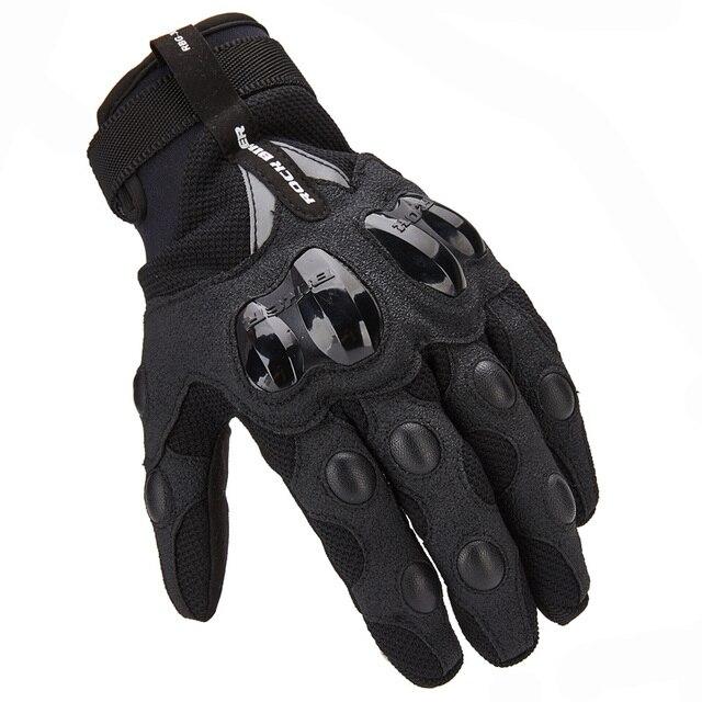 61088e9f € 14.46 40% de DESCUENTO Motocicleta, guantes de pantalla táctil  transpirable guantes de verano Moto guantes Motocross Luva Moto Venta  caliente en ...