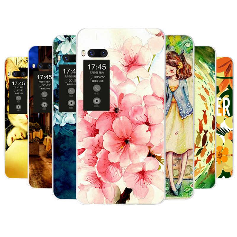 Чехол для телефона Meizu Pro 7 красивая девушка мультфильм мягкий силиконовый
