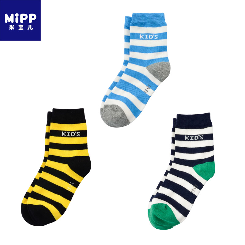 Streng 3 Paare/los Gestreiften Baumwolle Kinder Socken 2-12 Jahre Kinder Socken Baby Jungen Mädchen Socken