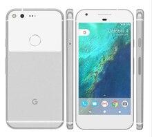هاتف محمول أصلي مفتوح من الاتحاد الأوروبي مع معالج جوجل بيكسل 4G LTE بشاشة 5.0 بوصة يعمل بنظام أندرويد رباعي النواة وذاكرة وصول عشوائي 4 جيجا بايت وذاكرة قراءة فقط 32 جيجا بايت/128 جيجا بايت هاتف بشريحة واحدة