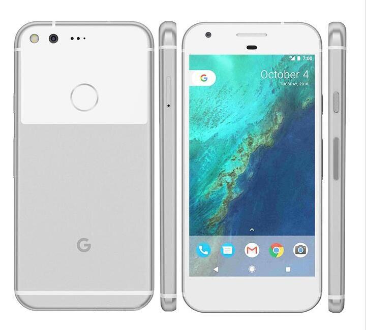 Débloqué Original L'UE version Google Pixel 4g LTE 5.0 pouce Android téléphone portable Quad Core 4 gb RAM 32 gb /128 gb ROM Unique sim Téléphone