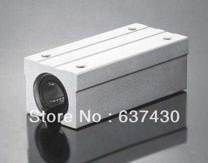 10pcs/lot SBR16LUU SME16LUU Twin Block Linear Slide unit bearings
