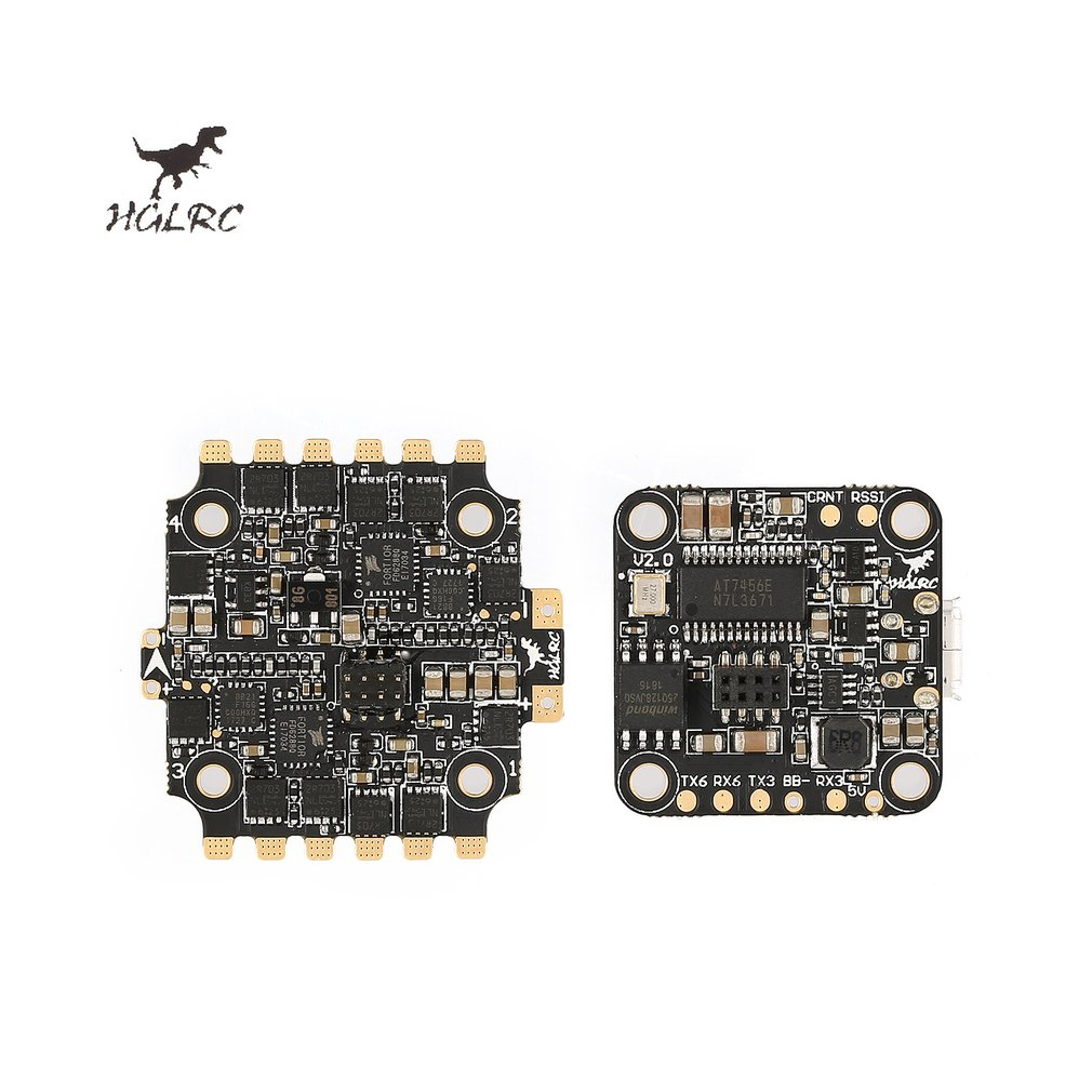 HGLRC XJB F440 F428 F438 F4 Tower Flight Controller Betaflight OSD 4in1 40A Blheli_S ESC for 65mm-250mm RC Racing Drone Parts hglrc xjb f440 f428 f438 f4 tower flight controller betaflight osd 4in1 40a blheli s esc for 65mm 250mm rc racing drone parts