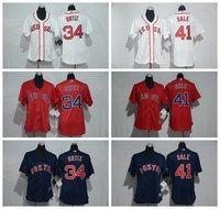 MLB Women S Boston Red Sox Chris Sale David Ortiz Jersey