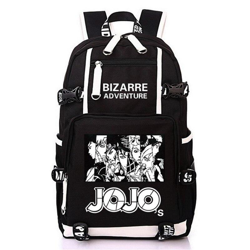 Jo Jo Adventure Anime Bag Notebook Backpack Knapsack Travel School Bag Rucksack Boys Girls Day PackJo Jo Adventure Anime Bag Notebook Backpack Knapsack Travel School Bag Rucksack Boys Girls Day Pack