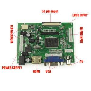 Image 5 - Nuovo 7 pollici 8 pollici 9 pollici TFT LCD Modulo Display Dello Schermo del Monitor con HDMI + VGA + 2AV Driver consiglio per Raspberry Pi
