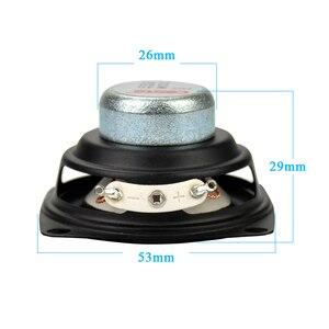 Image 2 - AIYIMA 2 adet 2 inç ses taşınabilir hoparlörler tam aralıklı hoparlör 4Ohm 12W DIY Stereo HiFi boynuz hoparlör ev sineması aksesuarları
