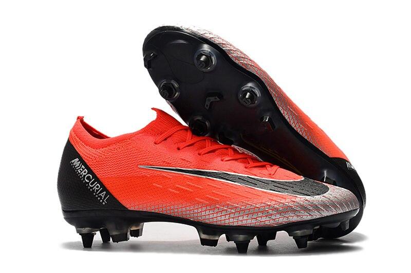 הזול ביותר מחיר ZUSA XII עלית SG ACC כדורגל מגפי Mens גבוהה קרסול SG כדורגל סוליות מכירות US6.5-US12