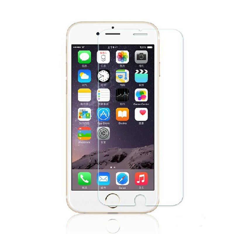 9H Ultrathin Tempered Glass Protective film For Iphone 6 Plus smartphone Screen Protector 5 5 inch film free shipping in Phone Screen Protectors from Cellphones Telecommunications