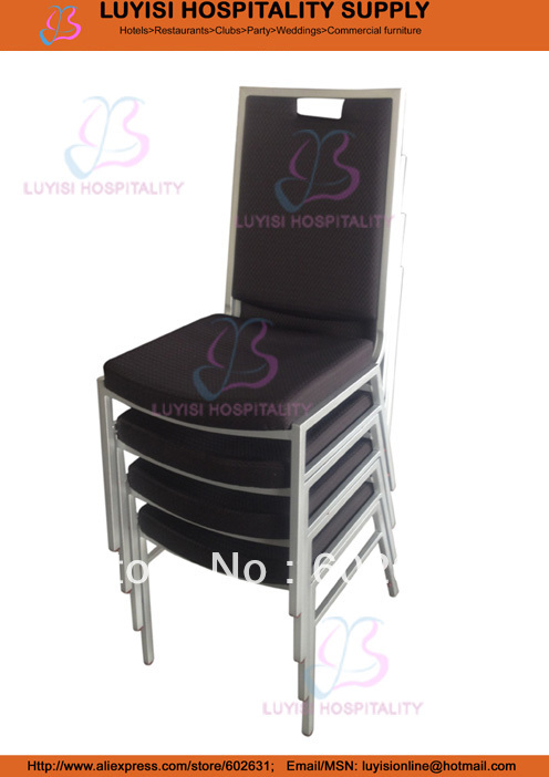 File Quality Square Back Steel Banquet Chair LUYISIS2256