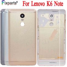 Original For Lenovo K6 Note Metal Cover Case for Back Battery Housing Replacement Parts With Tools