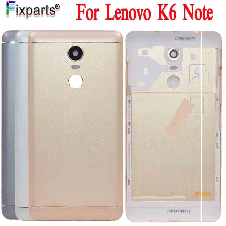Original For <font><b>Lenovo</b></font> <font><b>K6</b></font> <font><b>Note</b></font> Metal Cover Case for <font><b>Lenovo</b></font> <font><b>K6</b></font> <font><b>Note</b></font> Back <font><b>Battery</b></font> Cover Housing Replacement Parts <font><b>K6</b></font> <font><b>Note</b></font> With Tools image